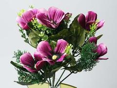 Букет Космея 561146 фиолетовый