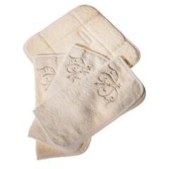Набор полотенец 3 шт Old Florence Ванити и корзинка бежевый