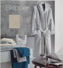 Элитный халат махровый Skipper бежевый от Svad Dondi