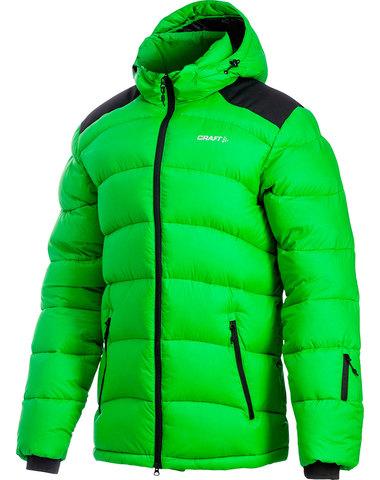 Куртка-пуховик Craft Down мужская green