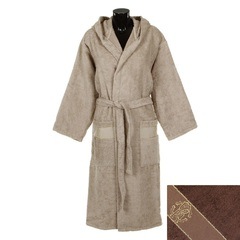Элитный халат махровый Araldico коричневый от Roberto Cavalli