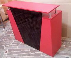 Стойка администратора с выдвижным ящиком на замке модель 423