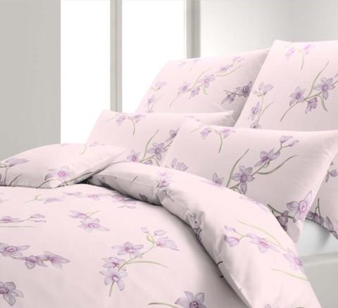 Элитная наволочка Orchidee розовая от Elegante
