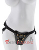Страпон Harness Fetish Fantasy Gold Designer Strap-On (16,5х4,5 см)