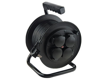 Удлинитель силовой на кабельной катушке 95708 фото