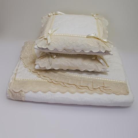 Элитное покрывало и 2 декоративные подушки Buratto от Old Florence