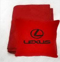 Плед в чехле с логотипом Lexus
