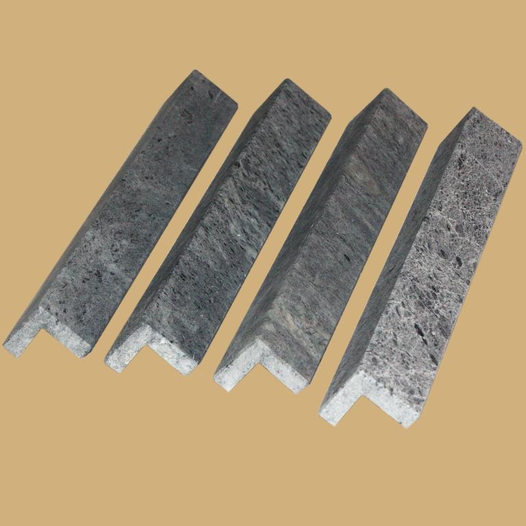 Уголок из камня талькохлорит, фото 1