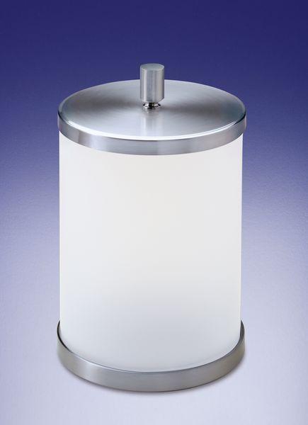 Ведра для мусора Ведро для мусора с крышкой Windisch 89104MSCR Ribbed korzina-dlya-musora-s-kryshkoy-89104-ribbed-ot-windisch-ispaniya-chrom.jpg