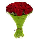 Букет из 51 красной розы/ 60 см.