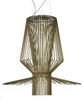 люстра  Foscarini  Allegro Assai Gold ( реплика )