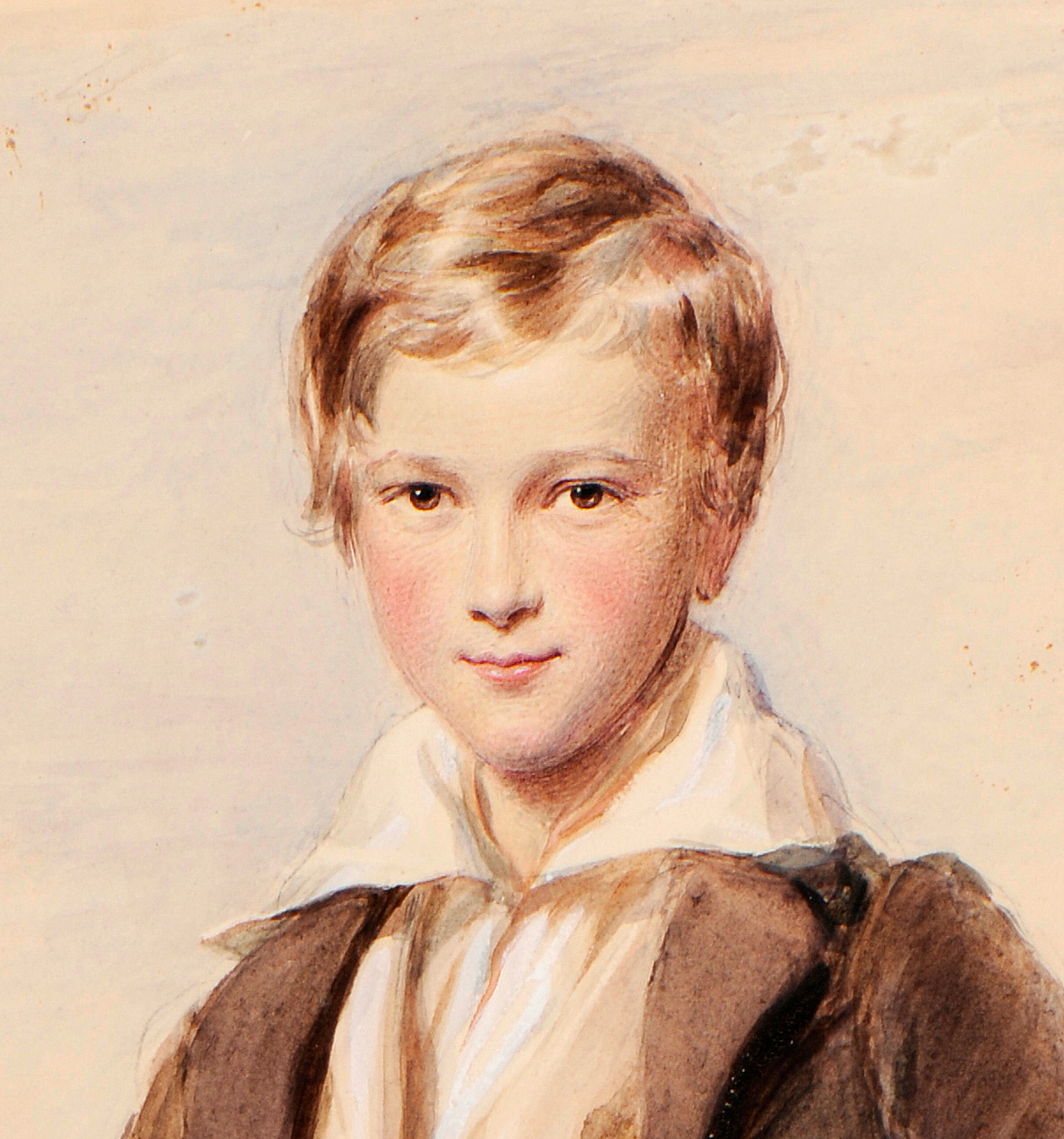 George RICHMOND (1809-1896) PORTRAIT OF RICHARD HOARE