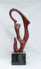 статуэтка напольная 11-82   абстракция