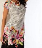 Летнее платье с цветочным рисунком B&B