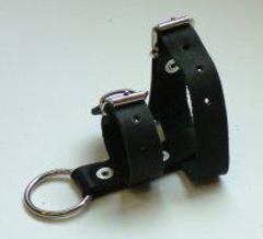 БДСМ украшение Сбруя на фаллос и мошонку (2 кольца)