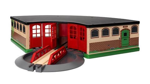 33736 BRIO Депо основное деревянной железной дороги
