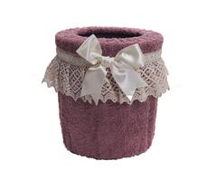 Ведро для мусора в ванную Rombetti розовое от Old Florence