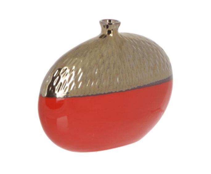Вазы настольные Элитная ваза декоративная Copperfield красная от Sporvil elitnaya-vaza-dekorativnaya-copperfield-krasnaya-ot-sporvil-portugaliya.jpg