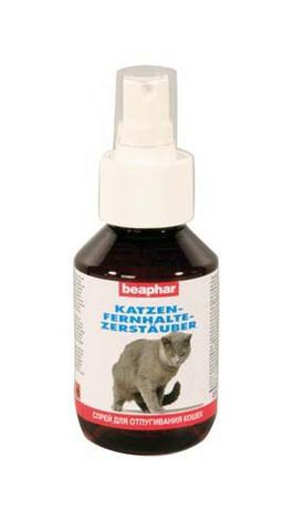 12527 Беафар Cat-fernhalte Спрей д/кошек отпугивающий 100мл*6*36