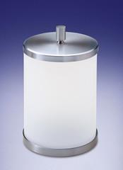 Ведро для мусора с крышкой Windisch 89114MSNI Plain Crystal