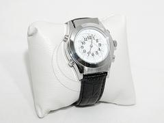 Наручные часы с речевым выходом и шрифтом Брайля 23772-2 (2 цвета)