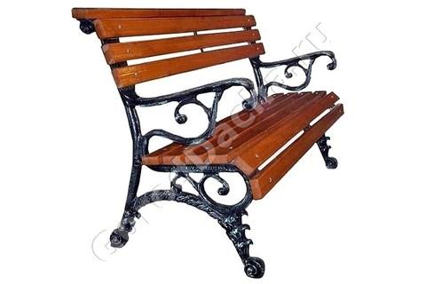 Скамейка чугунная «Городская»