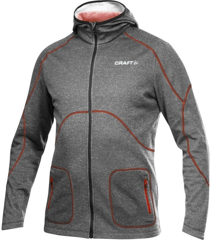 1901680-2395 Толстовка Craft Active Hood Zip мужская