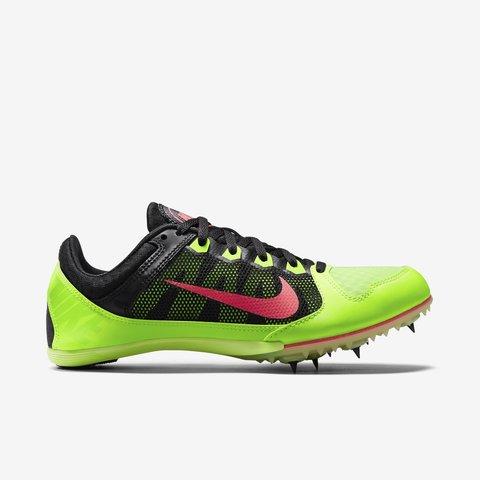 Nike Zoom Rival MD 7 green Шиповки на средние дистанции