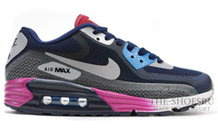 Кроссовки мужские Nike Air Max Lunar 90 Black Grey Blue