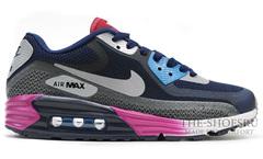 Кроссовки мужские Nike Air Max Lunar 90 Black Grey Blue