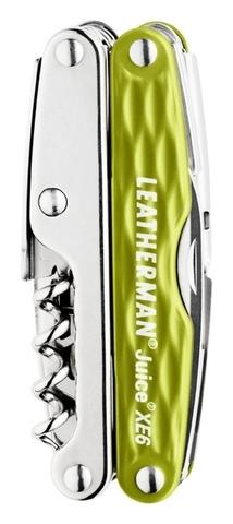 Мультитул Leatherman Juice Xe6 болотный (подарочная упаковка)