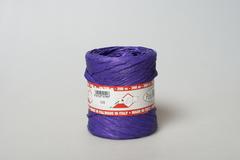 Рафия моток фиолетовый