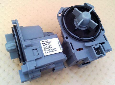 Насос для стиральной машины Bosch Maxx4/Maxx5 без улит.3 защелк.,фишка вперёд - Askoll M50/M215/M221