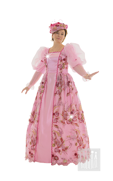 Карнавальный костюм Феи Роз, для взрослых. Купить в Интернет-магазине Мастерская Ангел-Карнавальные костюмы или офисах в Москве, Санкт-Петербурге.