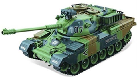 Радиоуправляемый танк HouseHold USA M60 (стрельба, звук, детализация) (1:20) (код: 4101-13)