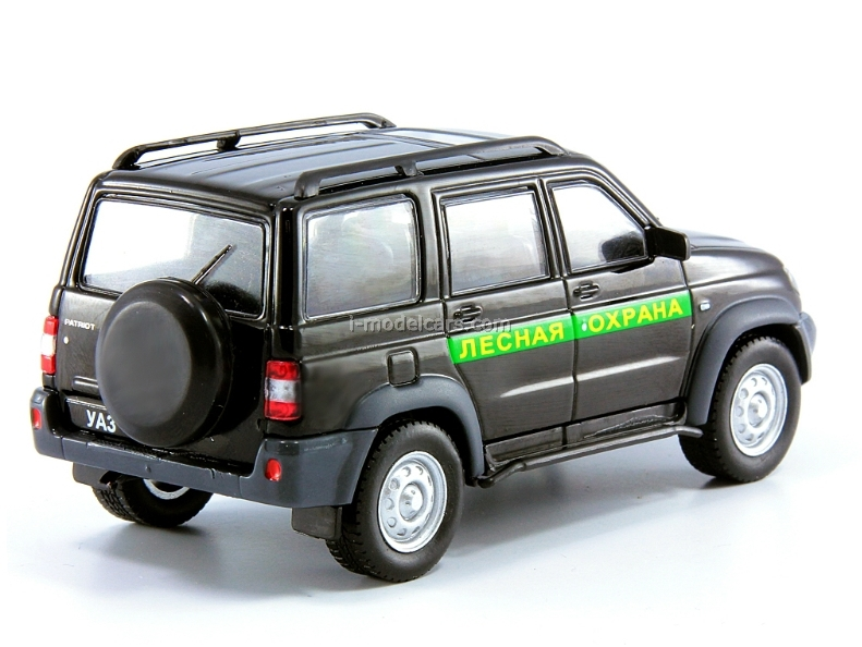 UAZ-3163 Patriot Forest Protection Russia 1:43 DeAgostini Service Vehicle #60