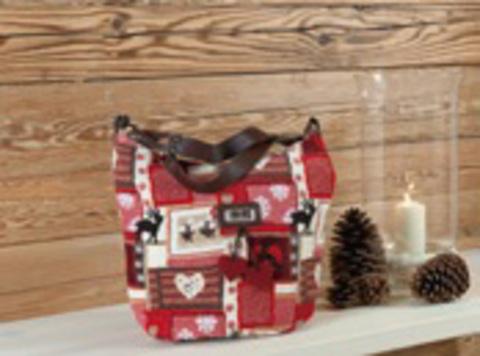 Элитная сумка шенилловая Winterzauber TA 63 от Feiler