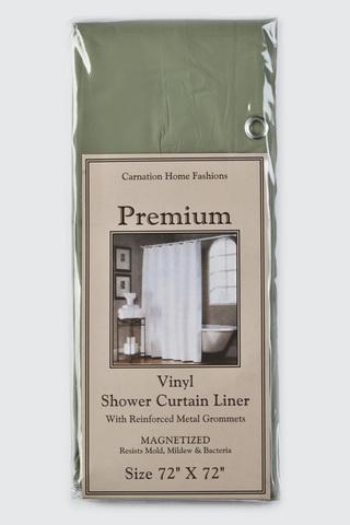 Элитная шторка защитная Premium 4 Gauge Sage от Carnation Home Fashions