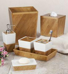 Ведро для мусора Spa Bamboo от Creative Bath
