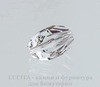 5650 Бусина Cubist Сваровски Crystal 12х8 мм