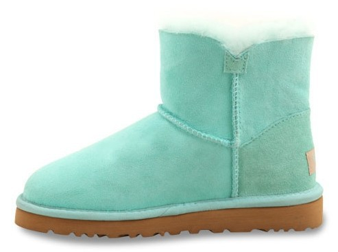 UGG Bailey Button Mini Deep Aqua