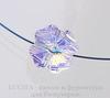 5752 Бусина - Клевер Сваровски Crystal AB 12 мм