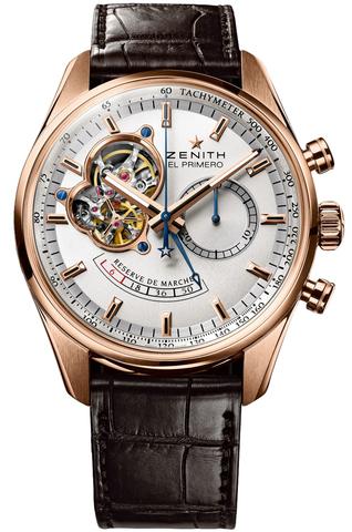 Купить Наручные золотые часы Zenith 18.2080.4021/01.C494 El primero по доступной цене