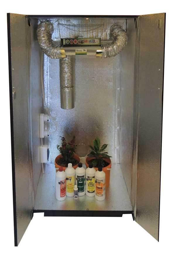 ГКК05 Гроубокс (Growbox) для экзотических растений (150х80х62)