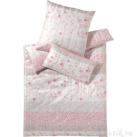 Элитная наволочка Cornwall розовая от Elegante