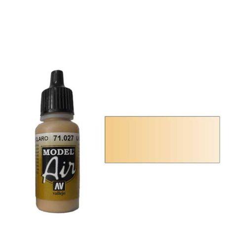 027 Краска Model Air Светло-коричневый (Light  Brown) укрывистый, 17мл