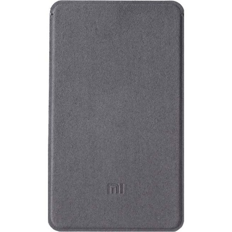 Чехол из микрофибры для Xiaomi Mi Power Bank 5000mAh (Серый)