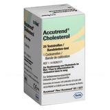 Тест-полоски Аккутренд (Accutrend) холестерин №25