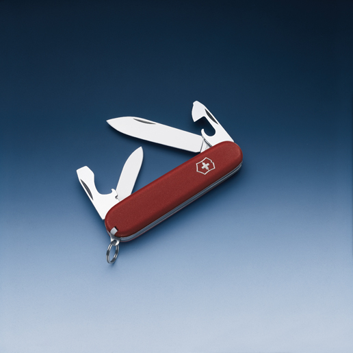 Швейцарский нож Victorinox EcoLine, 84 мм, 10 функ, красный матовый  (2.2503)