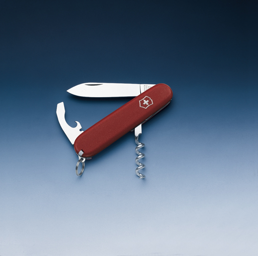 Швейцарский нож Victorinox EcoLine, 84 мм, 9 функ, красный матовый  (2.3303)